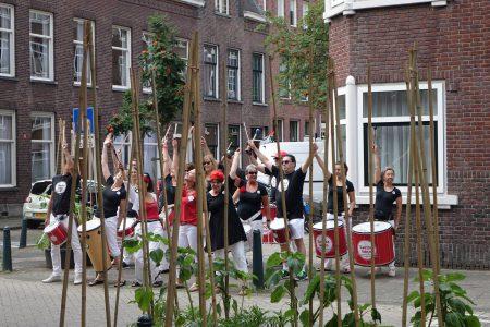 Opening buurtontmoetingsplek De Drie Straatjes Rotterdam 2017